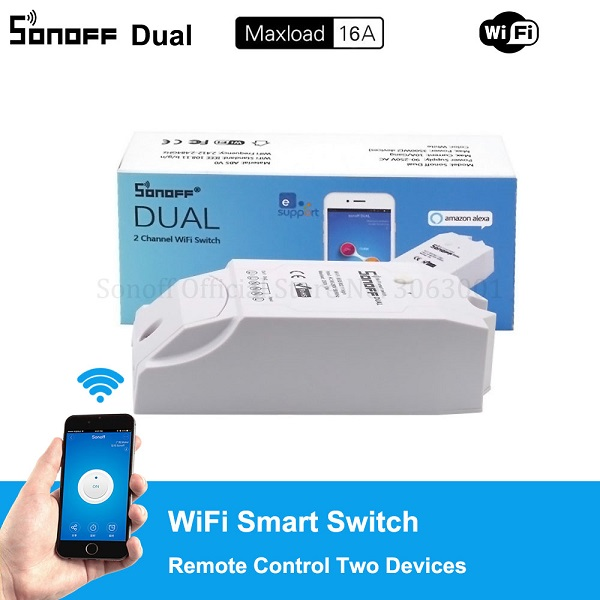 Sonoff Dual WiFi Wireless Smart Swtich (ACC04S)