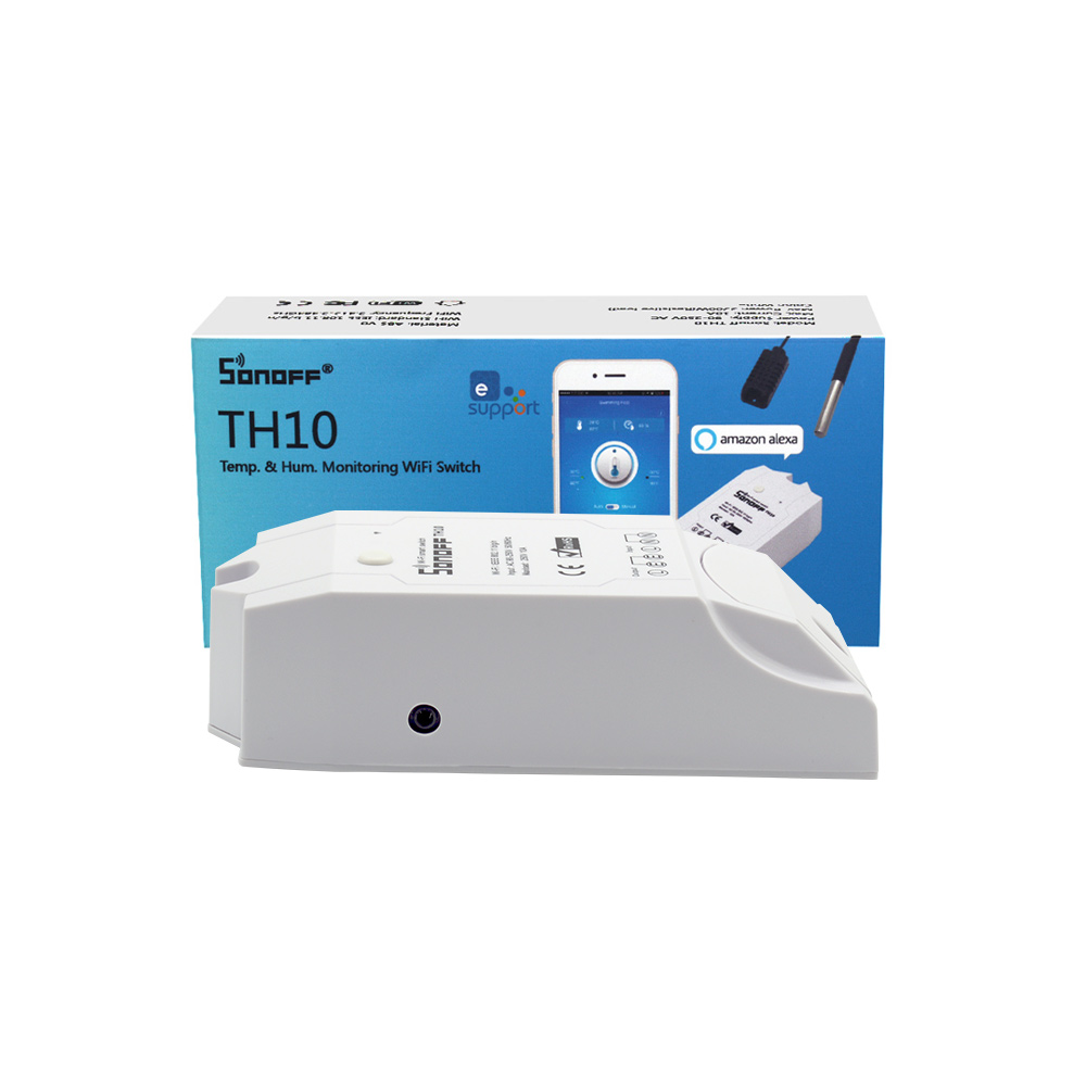TH10 Temp. and Humidity Monitor WiFi Smart Switch (ACC14S)