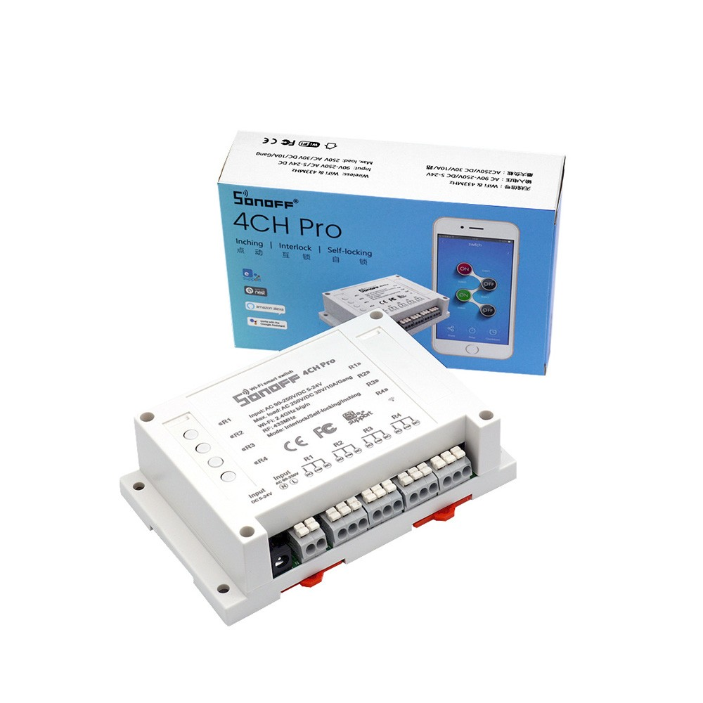 Sonoff 4CH Pro WiFi RF Smart Switch (ACC19S)