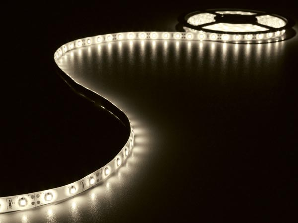 5M WARM WHITE FLEXIBLE LED STRIP AND PSU (ALZ01G)