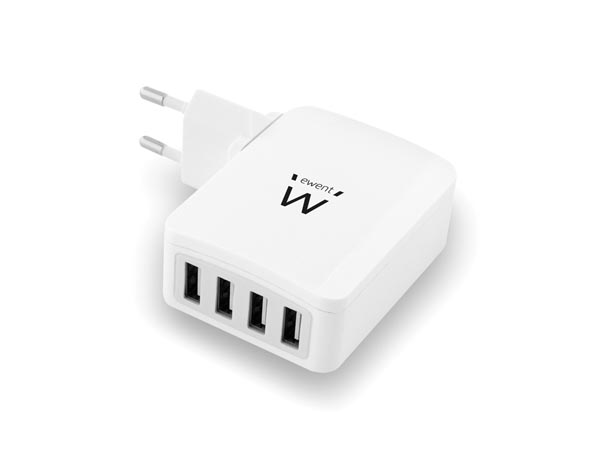 4 PORT USB SMART CHARGER 5.4 A (AMY35G)