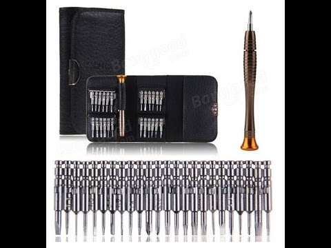 Multi-purpose Precision Screwdriver Wallet Set (ANF01G)