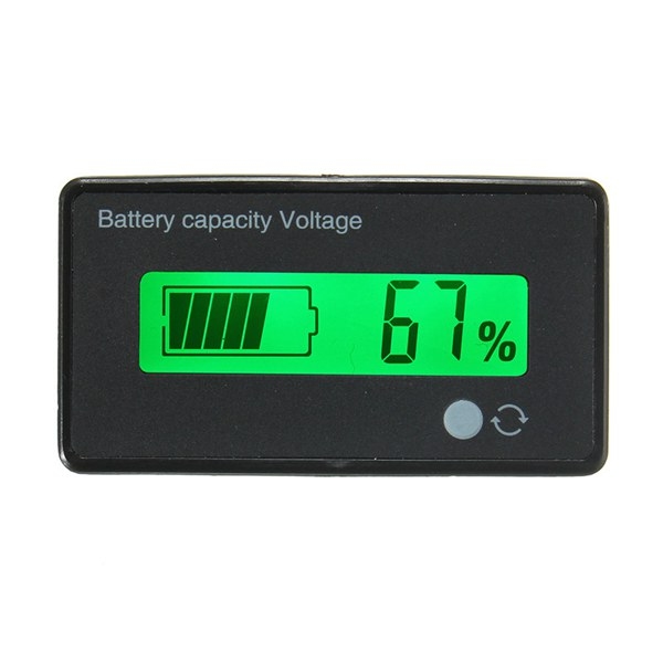 LCD Battery Capacity Indicator Digtal (ANG16G)