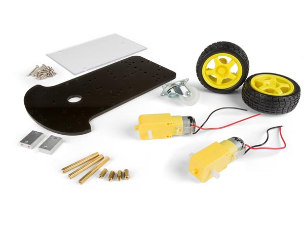 2 WHEEL DRIVE MOTOR CHASSIS ROBOTICS KIT (ARD103E)