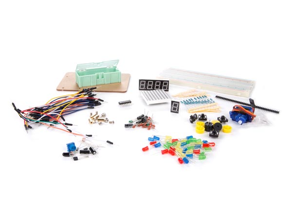 ELECTRONIC PARTS PACK FOR ARDUINO (ARD106E)