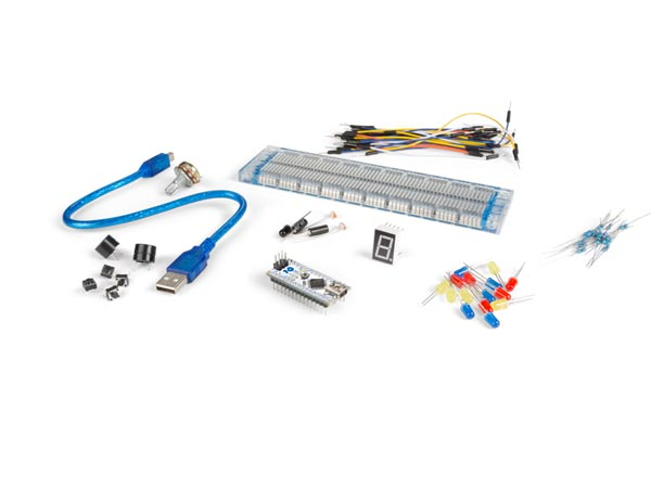 BASIC ARDUINO COMPATIBLE EXPERIMENTERS KIT (ARD107E)
