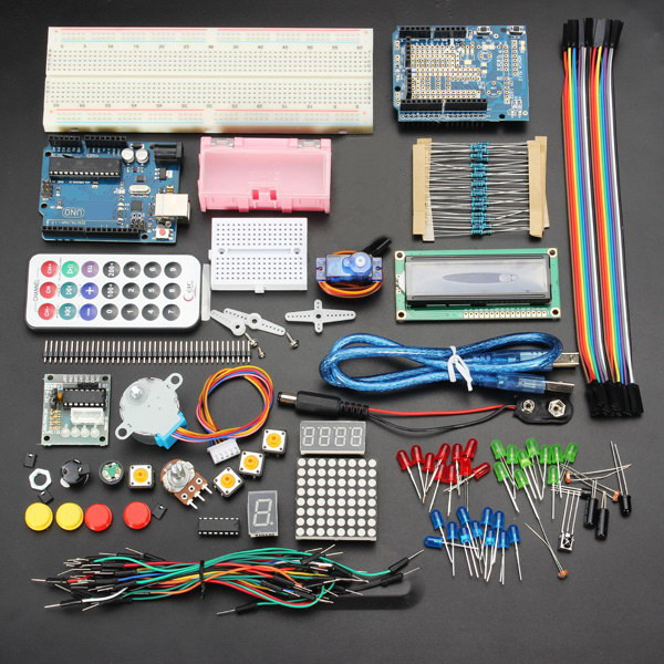 UNO R3 Basic Starter Learning Kit - No battery (ARD15E)