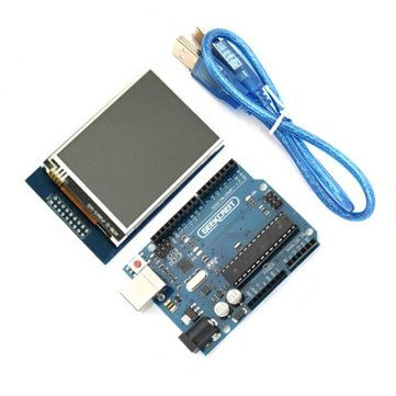UNO R3 USB Dev. Board- 2.8 Inch TFT Touch Screen (ARD22E)