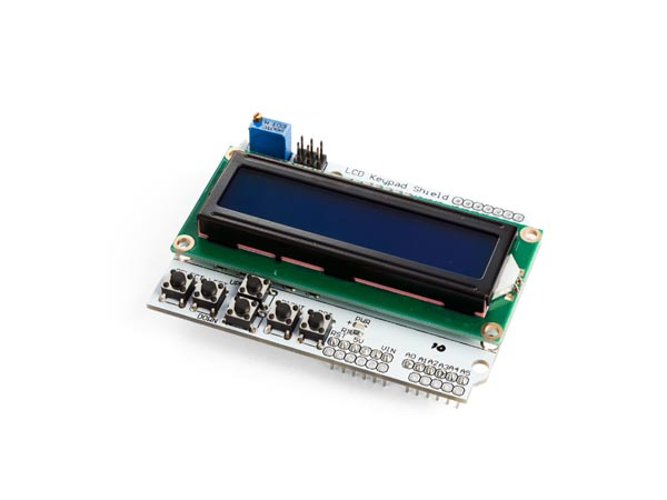 LCD & KEYPAD SHIELD FOR ARDUINO - LCD1602 (ARD59E)