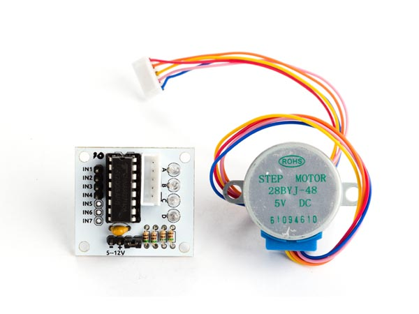 5 VDC STEPPER MOTOR WITH ULN2003 DRIVER BOARD (ARD84E)
