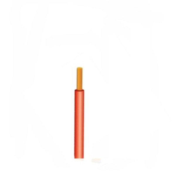 Eqp Panel Wire Solid Core 1mm Orange, per m (CBL73S)