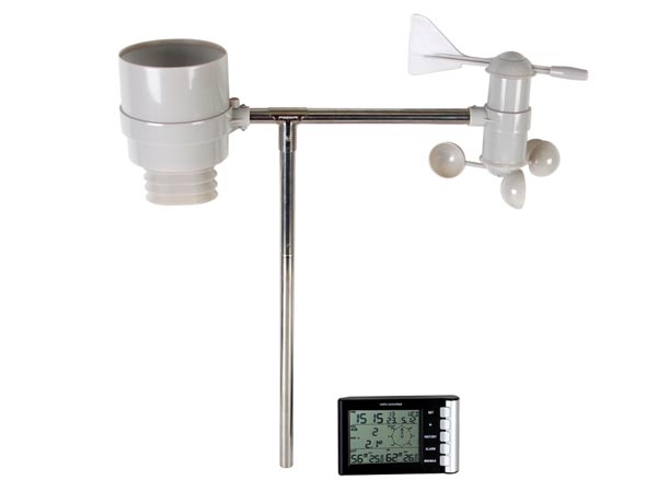 WIRELESS WEATHER STATION WITH OUTDOOR SENSOR (LAC02F)