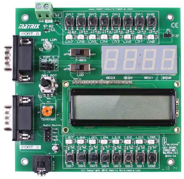 EB083 E-Blocks Combo Board (MMM09G)