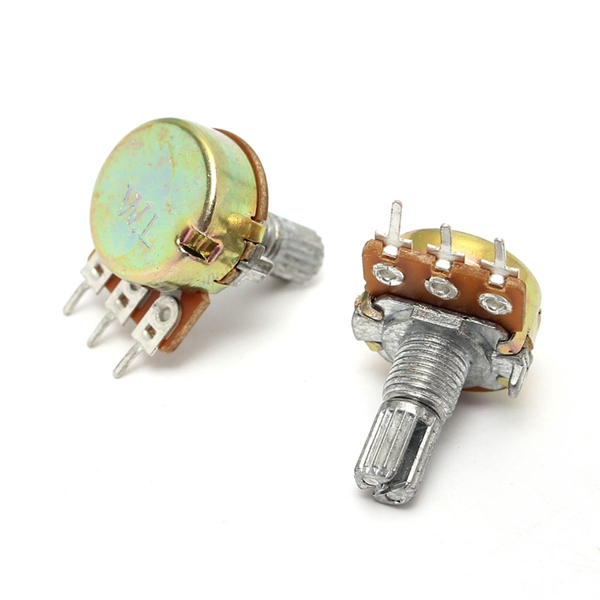 200V 0.2W 10K Ohm Potentiometers Single Linear (POT106)