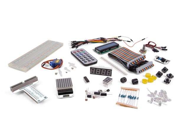 BASIC LEARNING KIT FOR RASPBERRY PI (RAS06G) - Click Image to Close