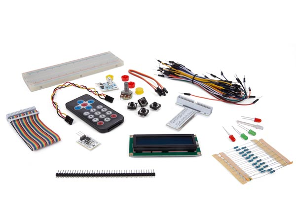 ELECTRONIC PARTS PACK FOR RASPBERRY PI (RAS08G)