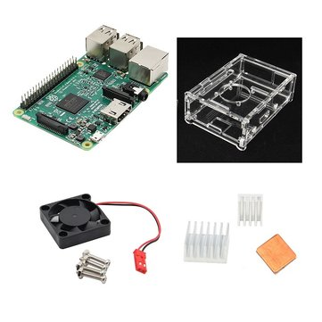4 In 1 Raspberry Pi 3 Model B (RAS10G)