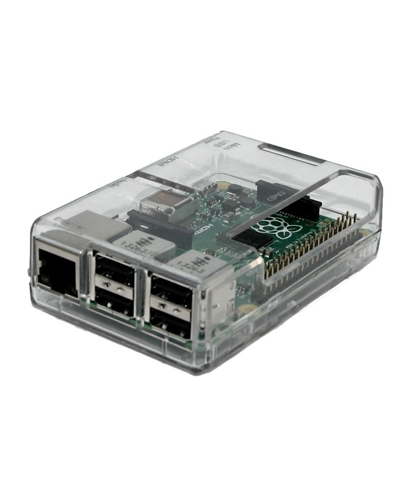 Enclosure Rasberry PI Clear Case (RAS14G)