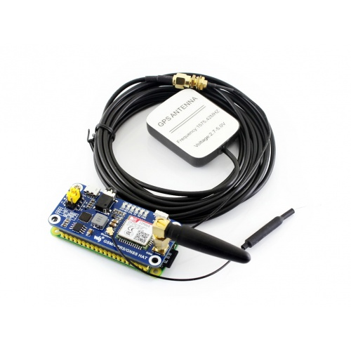 WS GSM/GPRS/GNSS/Bluetooth HAT for Raspberry Pi (RAS24G)
