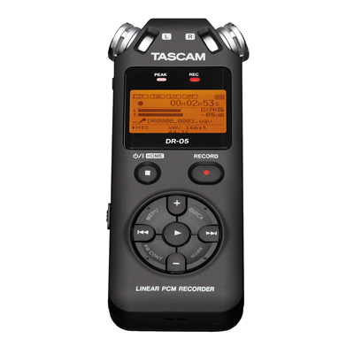 Tascam DR-05 Linear PCM/MP3 Recorder (TAC204)