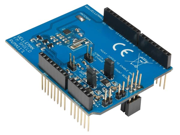 STEREO FM RADIO SHIELD FOR ARDUINO (VEL10E)