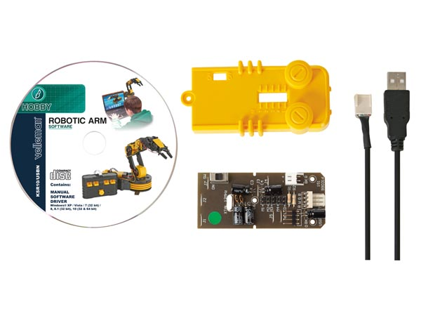 USB Interface Kit For Robotic Arm KSR10 (KSR10U)