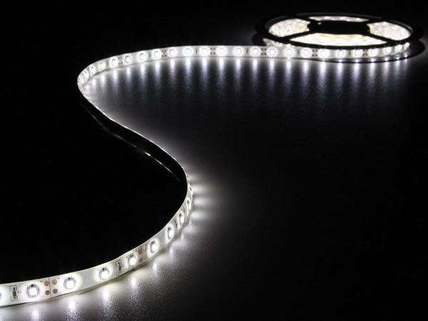 5M Cold White KIT WITH FLEXIBLE LED STRIP AND PSU (ALZ40G)