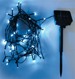Outdoor String Lights 50 LEDs, 6m, Blue (AMH56G)