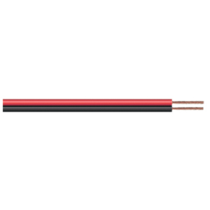 Red/Black 45 strand Figure 8 Auto Cable, 1m (AMK20G) - Click Image to Close