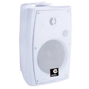 60w Active Wall Mnt Speakers with Bluetooth, White (AML29G)