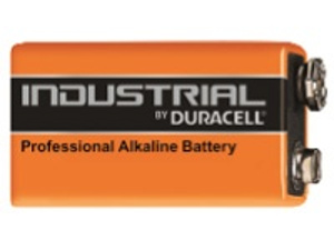Duracell Industrial PP3 Alkaline Battery (AMY44G)