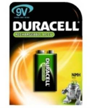 Duracell Rechargeable PP3 170mAh NiMH (AMY88G)