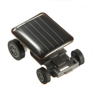Mini Solar Powered Toy Car Racer (APN40G)