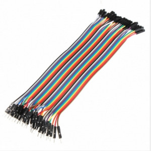 20cm Male to Female Jumper Leads for Arduino (ARD13E)