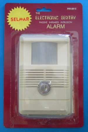 Self Contained PIR Alarm with Keyswitch (BCM09G) - Click Image to Close