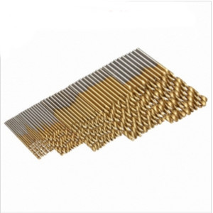 50-piece Titanium Coated Drill Bit Set (BCM47G)