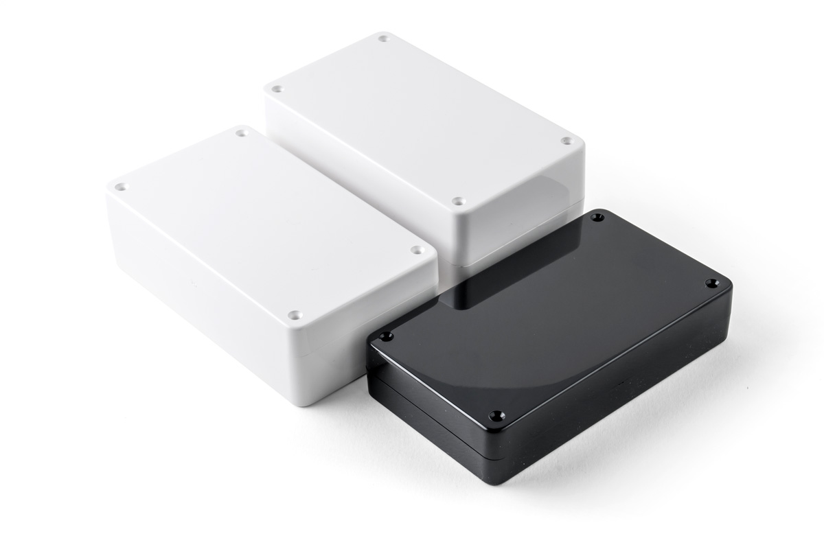 2 Part ABS Enclosure, AB910, White (BCN30G)