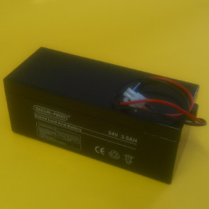Replacement Gate Motor Backup Battery, 24V/3.5Ah (ETS50S)