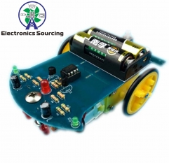 Mini DIY Motor Propelled Car Kit (KIT64S)