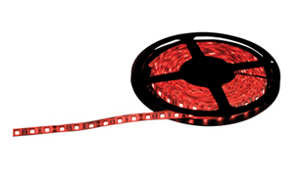 NJD 5m Red LED Super Flexible Tape (LED04H) - Click Image to Close