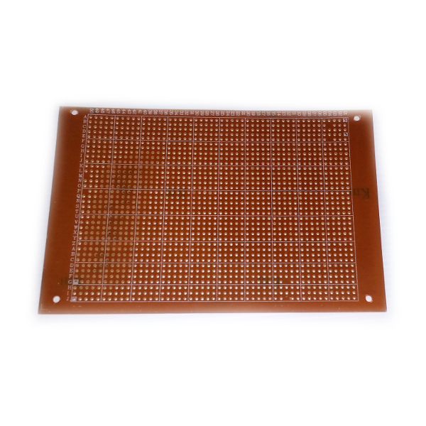 Single Sided Matrix Board, 100 x 150mm (POL20H)