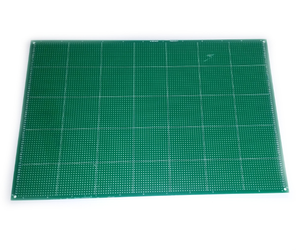 Single Sided Matrix Board, 200 x 300mm (POL25H)