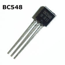 BC548B - Low Power NPN Sil Transistor (SEM80H)