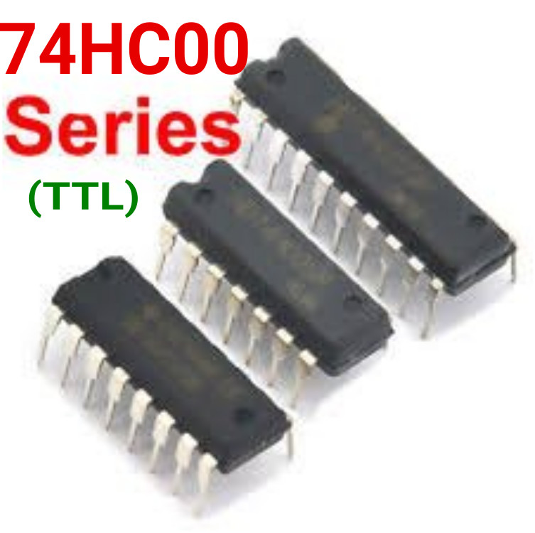 74HC08 - Quad AND Gate, 14 pin DIL (SEP30H)